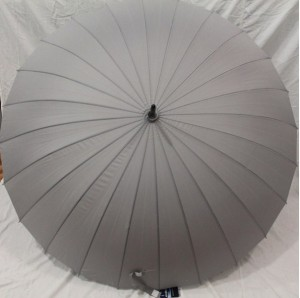 Подарок Зонт-трость 24 спицы (серый)