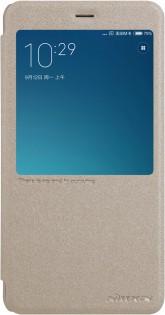 Купить Чехол книжка Nillkin Sparkle Leather для XIAOMI RedMi Note 4 Gold SP-LC HM-NOTE 4 (Р29357)
