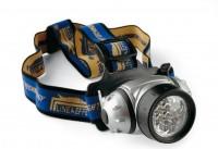 Фонарь налобный Lineaeffe 12 LED водонепроницаемый (7599315)