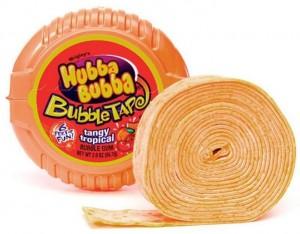 Подарок Жевательная резинка Hubba Bubba Bubble Tape 'Tangy Tropical'