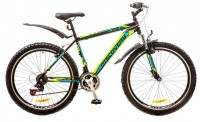 Велосипед Discovery TREK 26' рама-15', черно-сине-зеленый (OPS-DIS-26-109)