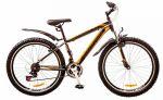Велосипед Discovery TREK DD 26' рама-15', черно-оранжево-синий (OPS-DIS-26-133)