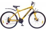 Велосипед Discovery TREK DD 26' рама-18', серо-желтый (OPS-DIS-26-124)