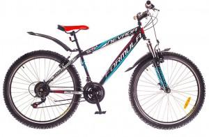 Велосипед Formula NEVADA 26' рама - 16', черно-красно-синий (OPS-FR-26-224)