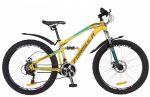 Велосипед Formula BLAZE 26' рама - 15', черно-сине-оранжевый (OPS-FR-26-218)