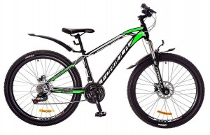 Велосипед Formula BLAZE 26' рама - 15', черно-зеленый (OPS-FR-26-216)