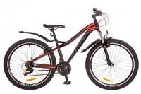 Велосипед Formula ELECTRA 26' рама - 15', черно-оранжево-фиолетовый (OPS-FR-26-219)