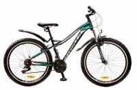 Велосипед Formula ELECTRA 26' рама - 15', голубой с зеленым (OPS-FR-26-220)