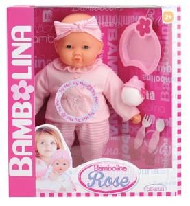 Интерактивная кукла Bambolina Роза (BD360UA)