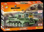 Конструктор COBI Word Of Tanks A34 Комета, 530  деталей (COBI-3014)