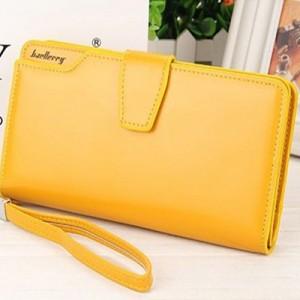Подарок Кошелек женский Baellerry Business желтый