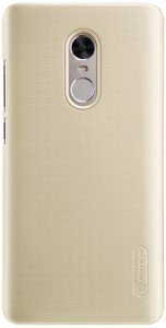 Чехол бампер Nillkin Frosted Shield для Xiaomi RedMi Note 4X Gold F-HC HM-NOTE 4X (Р30072)