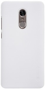 Чехол бампер Nillkin Frosted Shield для Xiaomi RedMi Note 4X White F-HC HM-NOTE 4X (Р30070)