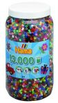Термомозаика HAMA Набор цветных бусин, 13.000шт, 50 цветов, MIDI 5+ (211-68)