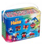 Термомозаика HAMA Набор цветных бусин, 30.000 шт, 50 цветов, MIDI 5+ (208-68)