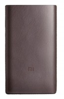 Чехол кожаный для Xiaomi Power bank 10000 mAh PRO Type-C Brown (Р29386)