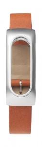 Ремешок для браслета Xiaomi Mi Band Leather Brown (Лицензия) (Р10074)