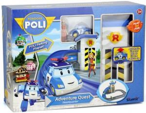 фото Трек с подъемником Silverlit 'Robocar Poli' (машинка Поли и фигурка Джин в комплекте) (83316) #3