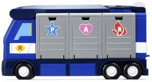 фото Мобильная штаб-квартира с контейнерами Silverlit 'Robocar Poli' (83377) #3