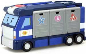 фото Мобильная штаб-квартира с контейнерами Silverlit 'Robocar Poli' (83377) #2