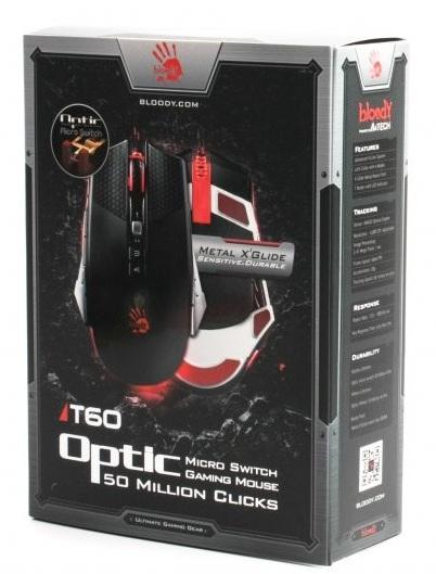 Купить Мышь игровая A4Tech Bloody TL60 USB Black/Silver (4711421917407)