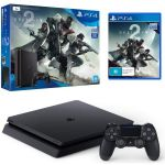 Приставка Sony PlayStation 4 Slim 1Tb Black (игра 'Destiny 2' в подарок) (официальная гарантия)
