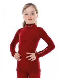Детское термобелье Brubeck Active Wool burgundy 152/158 (LS13690-LS12130 burgundy-152/158)
