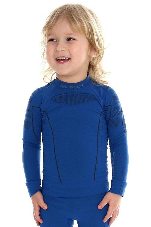 Купить Детская термофутболка с длинным рукавом Brubeck Thermo blue 104/110 (LS13660-blue-104/110)