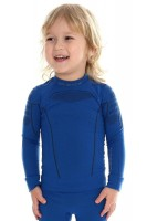 Детская термофутболка с длинным рукавом Brubeck Thermo blue 104/110 (LS13660-blue-104/110)