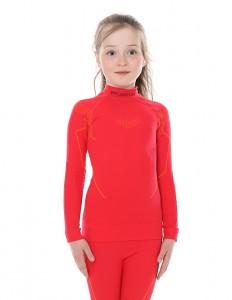 Детская термофутболка с длинным рукавом Brubeck Thermo raspberry 140/146 (LS13650-raspberry-140/146)