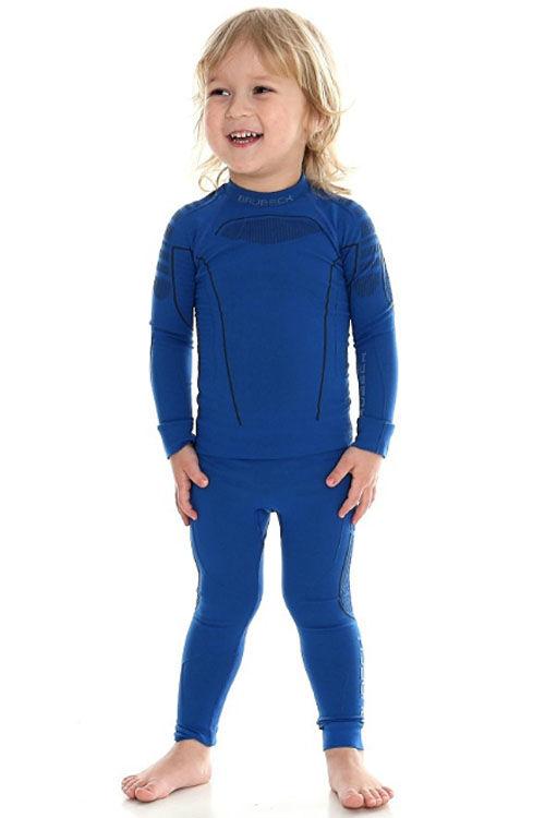 Купить Детское термобелье Brubeck Thermo blue 104/110 (LS13660-LE12100 blue-104/110)
