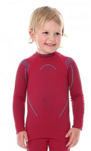 Детская термофутболка с длинным рукавом Brubeck Thermo pink 104/110 (LS13670-pink-104/110)