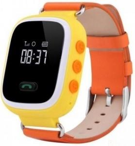 Детские умные часы с GPS трекером GW900 (Q60) Yellow