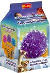 Набор для опытов 'Волшебные кристаллы. Ледниковый период. Фиолетовый'