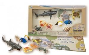 Обучающий игровой набор с QR-картой Wenno 'Обитатели Индийского океана' (WIN1701)