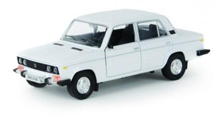 Купить Металлическая машинка 'Автопром' ВАЗ 2106 белая (2106w), China Factory