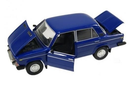Купить Металлическая машинка 'Автопром' ВАЗ 2106 синяя (2106 blue), China Factory