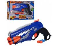 Пистолет 'Бластер' с мягкими пулями 8 шт (FX3038-A)