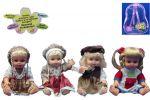 Кукла 'Алина' со звуком в рюкзаке 4 вида (5139/52/53/54)