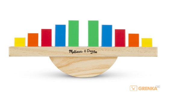 Купить Деревянный баланс Melissa & Doug 'Радуга' (MD15197)