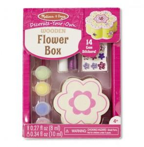 Оформительский набор Melissa & Doug 'Шкатулка-цветочек' NEW (MD18852)