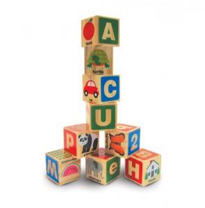 фото Деревянные блоки Melissa & Doug 'Цифры/Буквы' (MD2253) #2