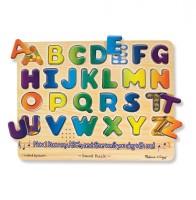 Звуковой пазл Melissa & Doug 'Английский алфавит' (MD340)