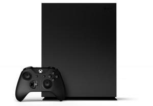 Приставка Microsoft Xbox One X 1TB + Дополнительный джойстик