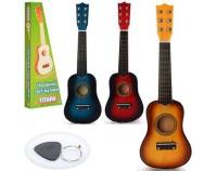 Игрушечная гитара 3 цвета (M1370)