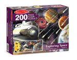 Напольный пазл Melissa & Doug 'Исследование космоса' 200 эл. (MD8909)
