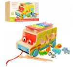 Деревянная игрушка 'Машинка' 3 в 1 (MD1084)