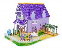 3D пазлы Melissa & Doug 'Фиолетовый домик' (MD9461)