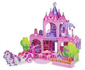 3D пазлы Melissa & Doug 'Розовый замок' (MD9462)