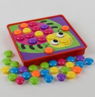 Мозаика Fun Game 'Цветная фантазия' 10 платформ с рисунками (7033)